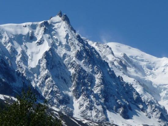 ชาโมนิกซ์, ฝรั่งเศส: Aiguille du Midi y Mont Blanc