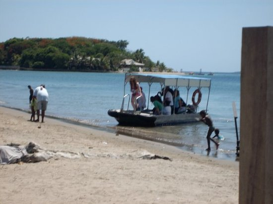 Our transport to and from Port Vila and Hideaway