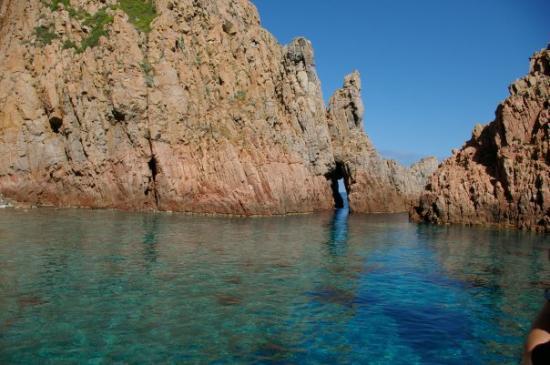 Corsica, ฝรั่งเศส: Corse, France calanches de piana