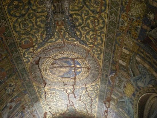 Kaiser Wilhelm Memorial Church: inside the bombed church
