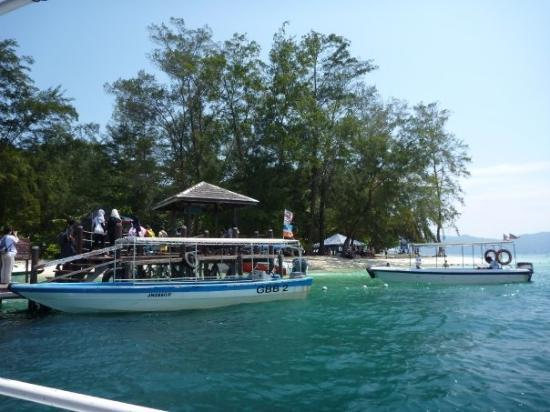 โกตากีนาบาลู, มาเลเซีย: mamutik island
