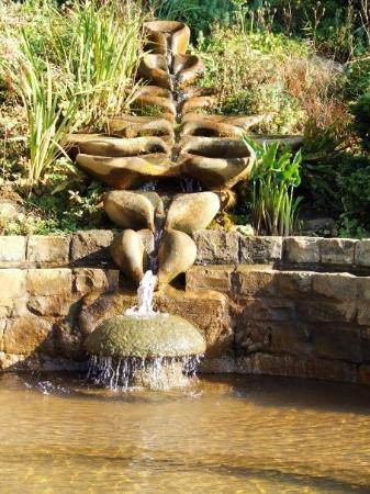 Fountain at the Chalice Well in Glastonbury, England.