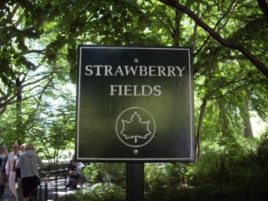 Strawberry Fields, John Lennon Memorial: Strawberry Field's Forever! You just have to stand out from the 72nd street subway station...and