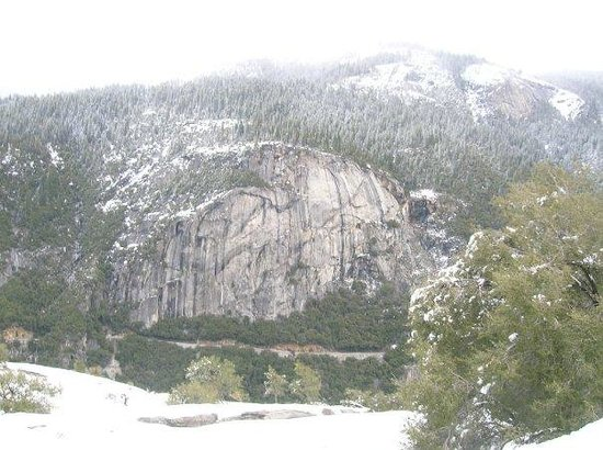 Half Dome: First hunk of granite in the park!