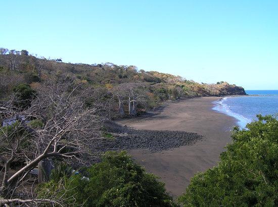 Bandrelé, Majotta: la plage de l'hotel
