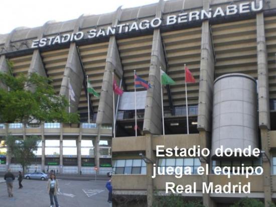 Estadio Santiago Bernabeu(Madrid)