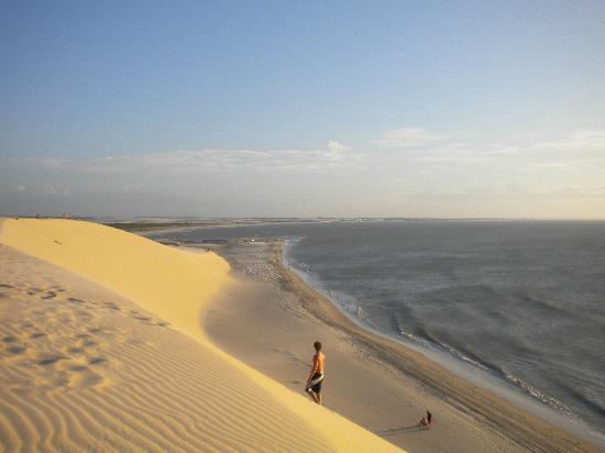 Pousada Dos Corais : coucher de soleil inoubliable de la dune de Jericoacoara