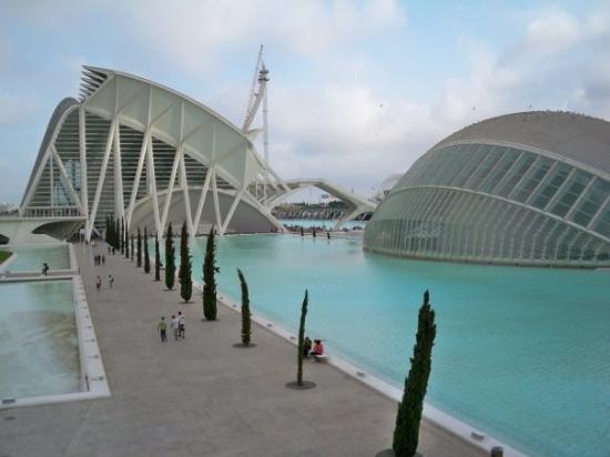 City of the Arts and Sciences: ciudad