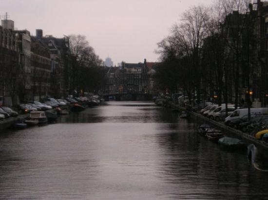 Red Light District: Tarde gris de Amsterdam.