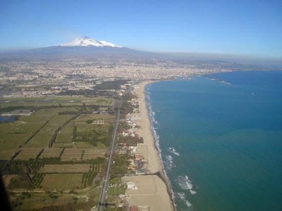 กาตาเนีย, อิตาลี: Italia ( Playa di Catania - foto aerea )