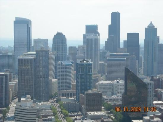 View from the Space Needle in Seattle