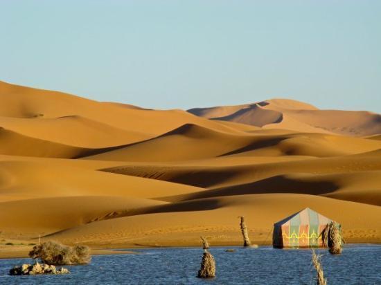 Erg Chebbi, โมร็อกโก: höchste Sanddünen Marokkos.
