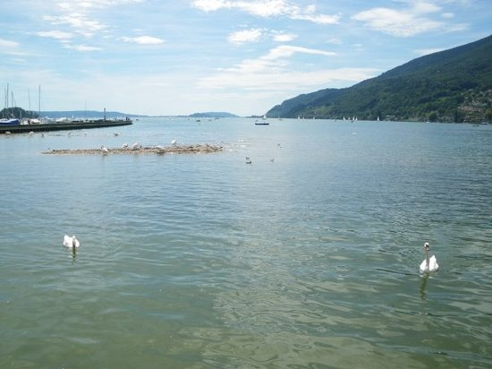 Biel, Switzerland: Lac Bienne