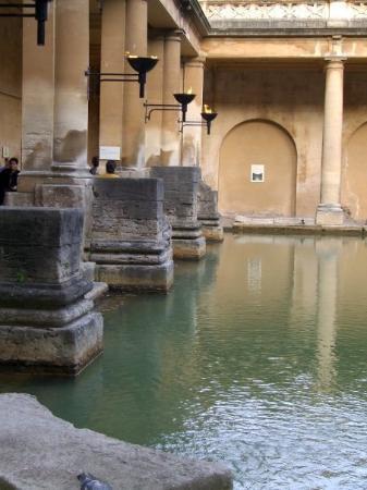 บาธ, UK: Roman Baths in Bath