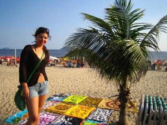 Copacabana Beach ภาพถ่าย