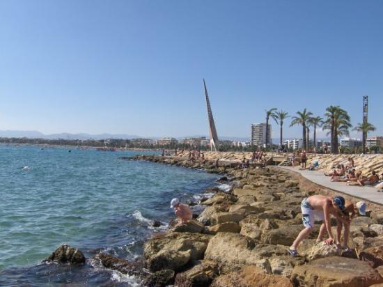 ซาลู, สเปน: Petite vue de notre playa