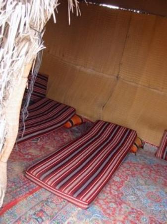 Our over night sleeping place in the desert of Al Ain