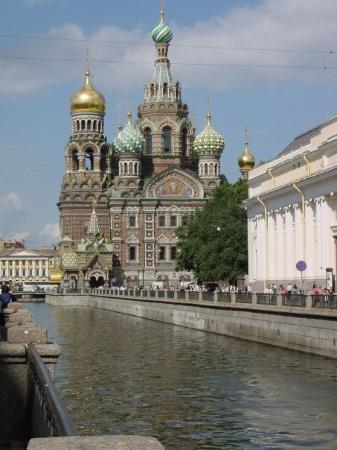 โบสถ์แห่งหยดพระโลหิตพระผู้ไถ่: Church of the Blood in St. Petersburg