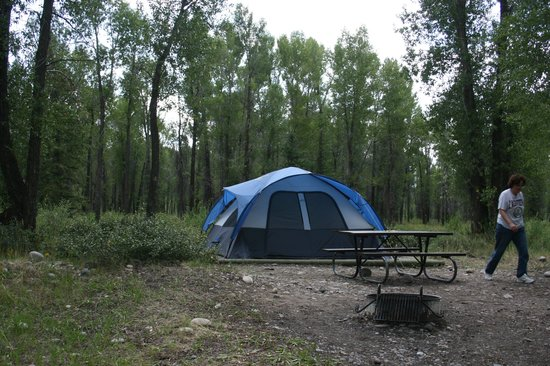 Moran, WY: Gros Ventre campground