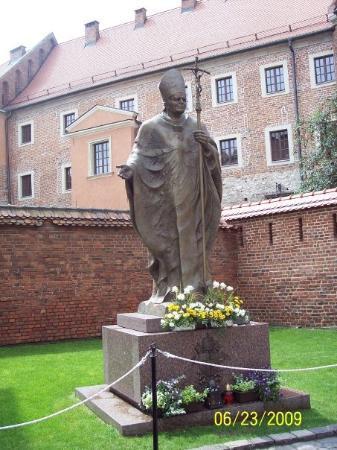 พระราชวังหลวงวาเวล: The Polish Pope John Paul