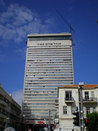 เทลอาวีฟ, อิสราเอล: מגדל שלום מאיר