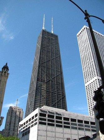 หอสังเกตุการณ์จอห์นแฮนค็อก: ugly building - Hancock tower