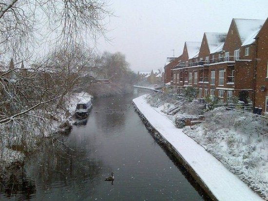 Kidderminster, UK: Waterside Grange Winter 2009