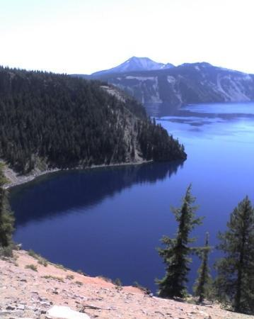 Crater Lake National Park: Water is still too blue.