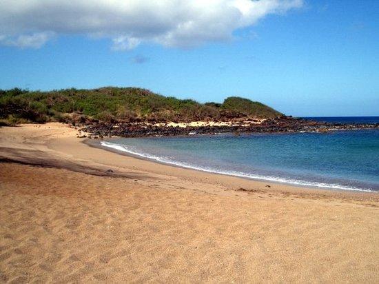 Dixie Maru Beach (Kapukahehu): Secluded.