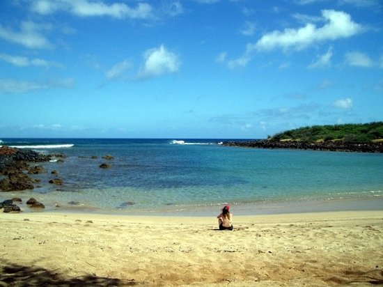 Dixie Maru Beach (Kapukahehu): Paradise.