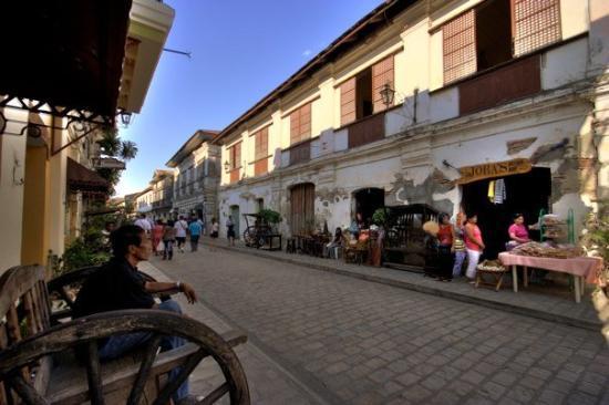 Ilocos Norte Province, ฟิลิปปินส์: calle crisologo, vigan