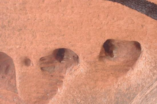 Uluru: spooky