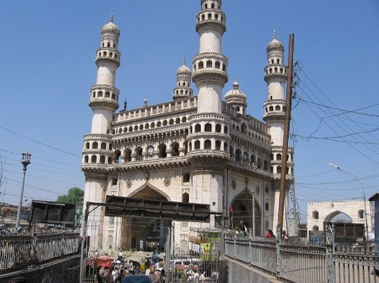 This is Charminar in Hyderabad India