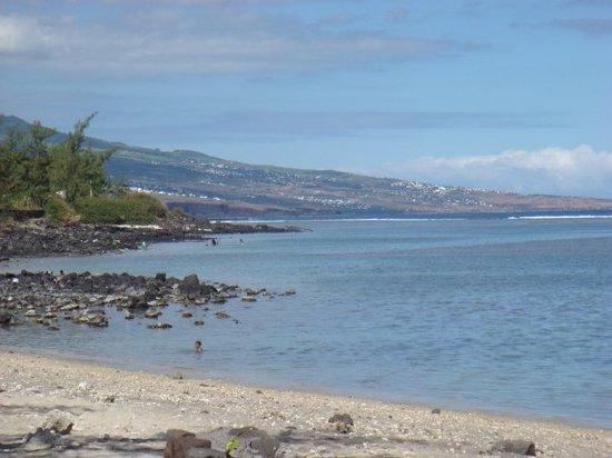 Saint-Denis, Reunion Island: Plage de l'Etang salé