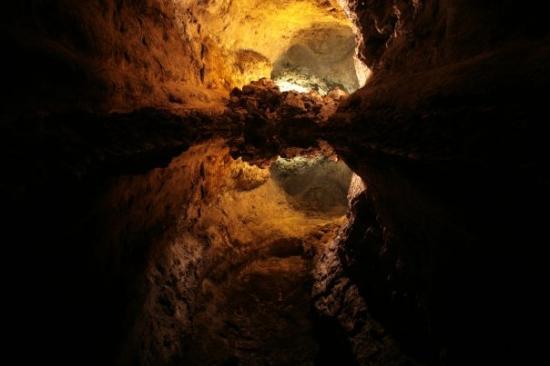 ลันซาโรเต, สเปน: Little Surprise - you need to see it, Cueva de los Verdes, Lanzarote
