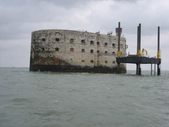 Île d'Oléron, France : ça y est le fort boyard!