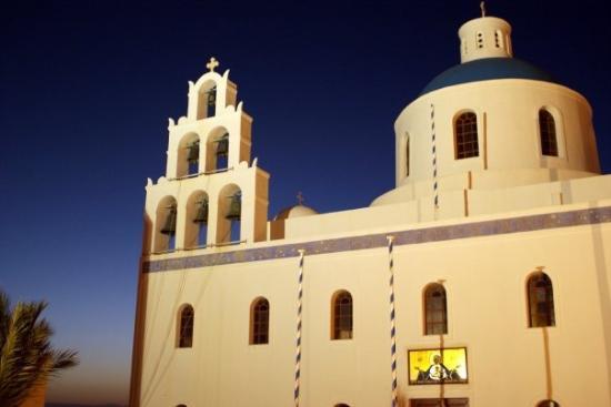 เอีย, กรีซ: Santorini - Church in Oia