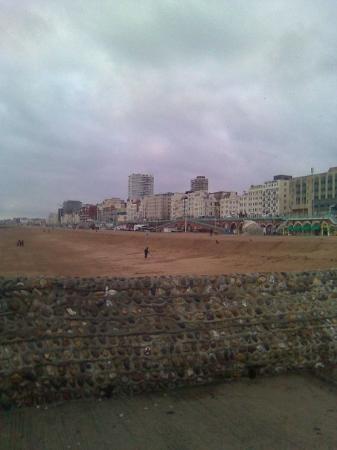 Brighton Beach: Brighton desde la platja.