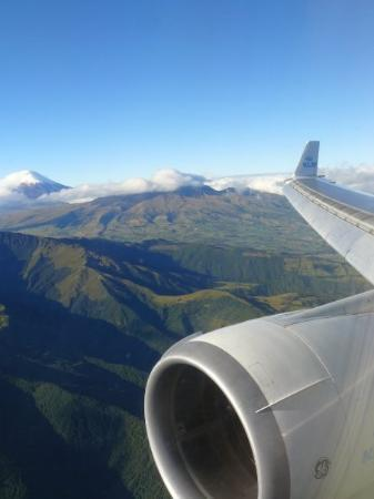 Quito, Ecuador: The Andes from above ...