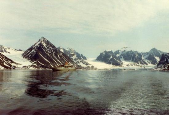 Spitsbergen, นอร์เวย์: Magdalenafjorden