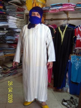 อากาดีร์, โมร็อกโก: Me, as a beduin