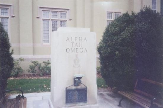 9b91ab1a74c8 Virginia Military Institute: Alpha Tau Omega Monument on VMI's Campus.