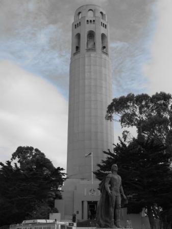Coit Tower ภาพถ่าย