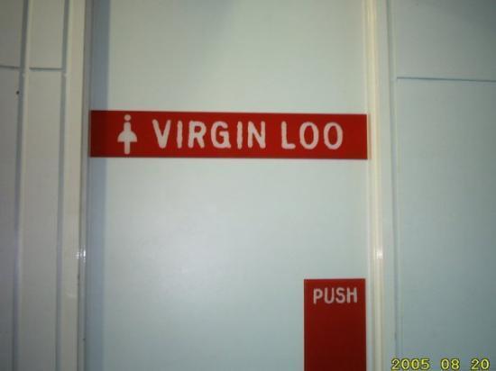 บริสเบน, ออสเตรเลีย: Virgin Loo at Brisbane Airport