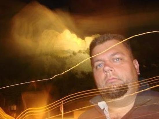คีน์สโตน, เซาท์ดาโคตา: at Mt. Rushmore. Is this artsy or just blurry?
