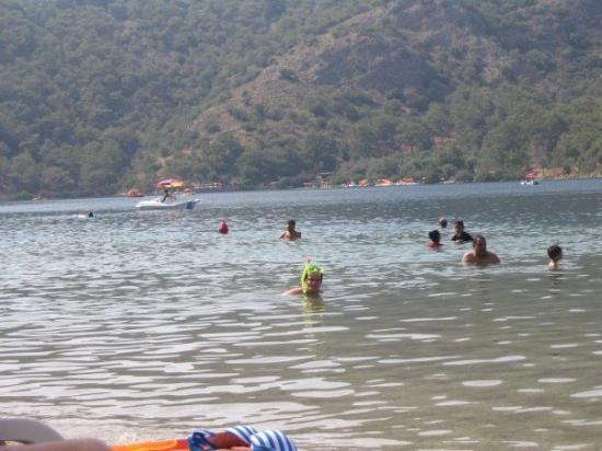 Oludeniz: The Blue Lagoon, Christian snorkelling.