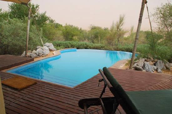 Al Maha, A Luxury Collection Desert Resort & Spa: Our beautiful pool