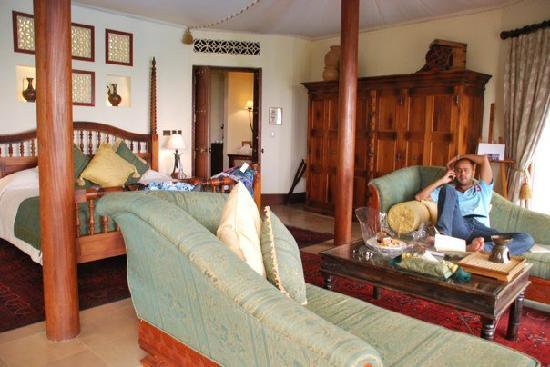 Al Maha, A Luxury Collection Desert Resort & Spa: Bedouin suite