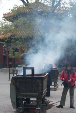 วัดลามะ (ยองกีกอง): I love incense pots
