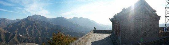 The Great Wall at Badaling: I love panoramic photos